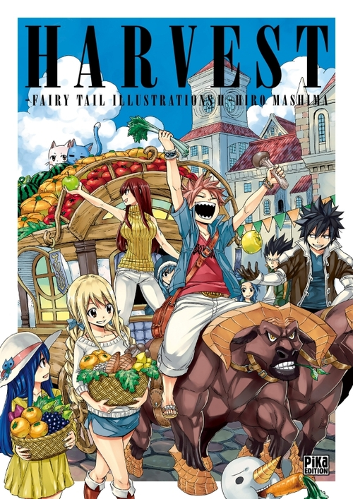 Fairy tail illustrations 2 - Harvest - Hiro Mashima