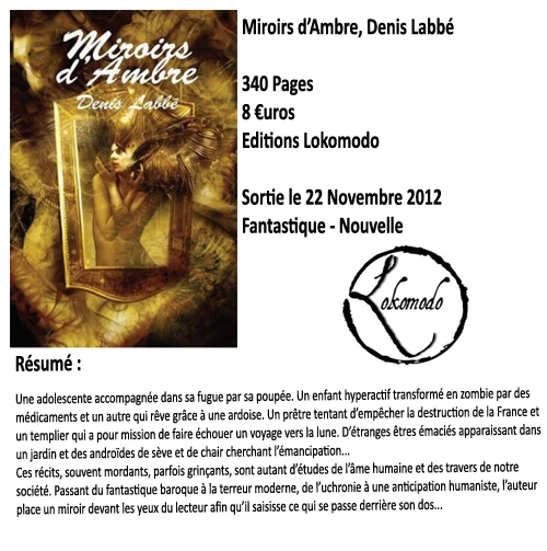 Miroirs d'Ambre, Denis Labbé