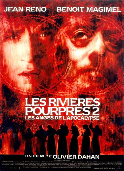 LES RIVIERES POURPRES 2 BOX OFFICE FRANCE 2004