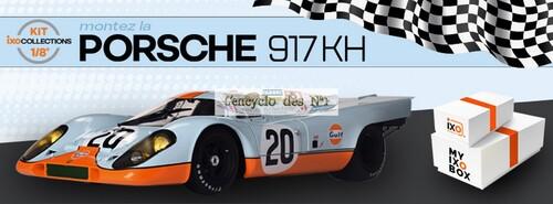 N° 1 Montez la Porsche 917 KH - Lancement