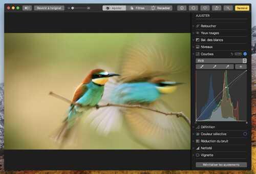 Les nouveautés de Photos dans macOS High Sierra