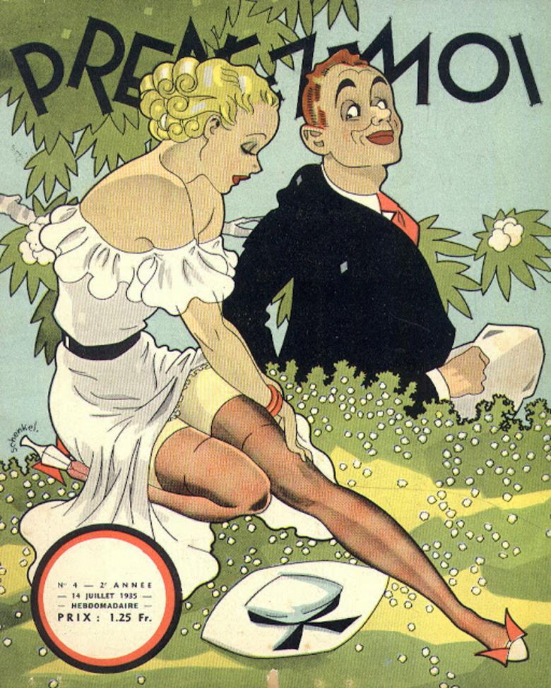 la revue belge Prenez-moi 1935