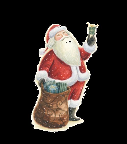 Tubes péres Noël en png