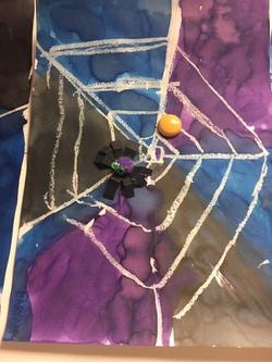 bricolages araignées
