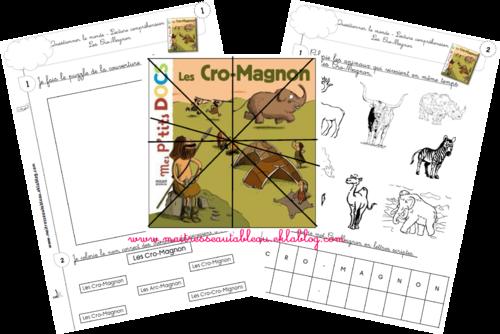 Cro Magnon / Les hommes préhistoriques / Lascaux / Les peintures rupestres