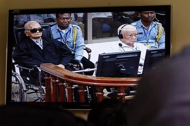Perpétuité pour les deux dirigeants khmers rouges
