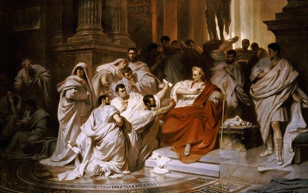 L'assassinat de César en peinture et cinéma