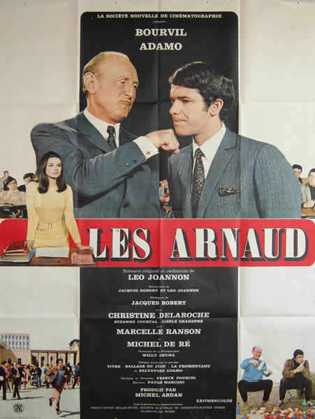 LES ARNAUD -  BOURVIL BOX OFFICE 1967