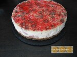 Cheesecake aux fraises Gariguette et speculoos