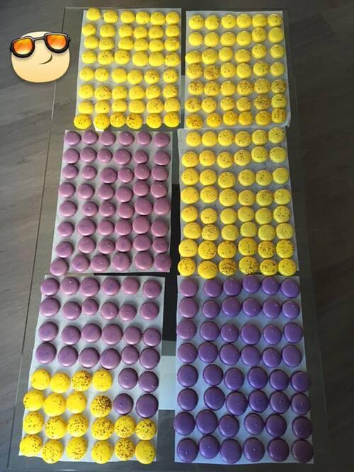 Pyramide de macarons - Repas de famille Juillet 2015