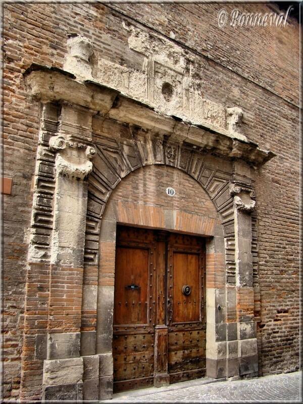 Albi porte Renaissance dans la vieille ville
