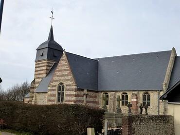 Ancretteville-sur-Mer - Eglise Saint-Amand (XVIIIe s.)