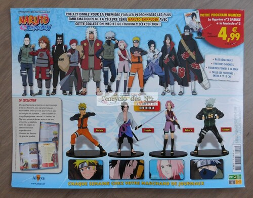 N° 1 Naruto Shippuden figurines de collection - Lancement