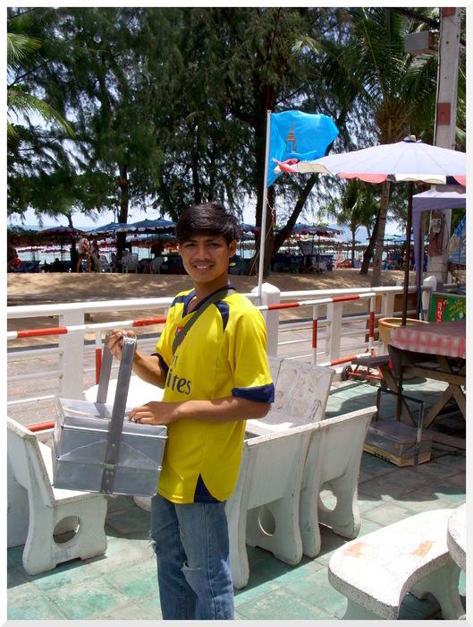 Photos de Thaïlande_14. Vendeurs des rues et plages