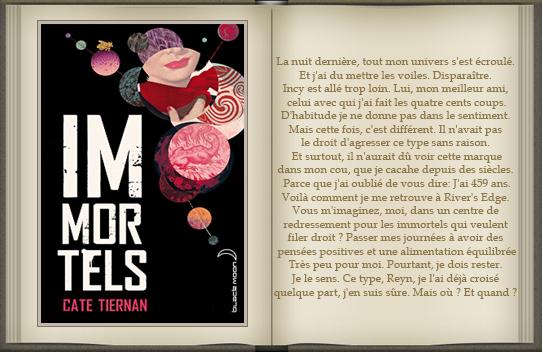 « Immortels : tome 1 » de Cate Tiernan.