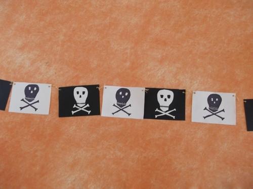 Anniversaire thème pirates