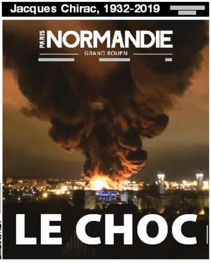 Face à Chirac, Lubrizol à Rouen passe à la trappe dans la presse nationale