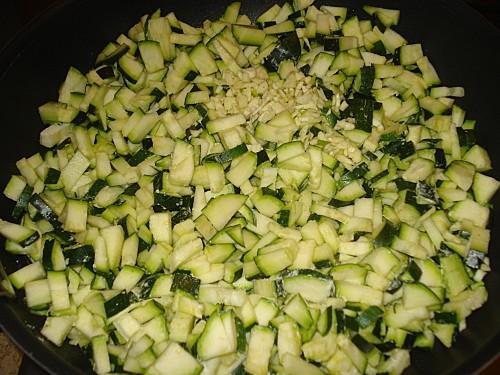 Méli-mélo de courgettes et mozzarella 3