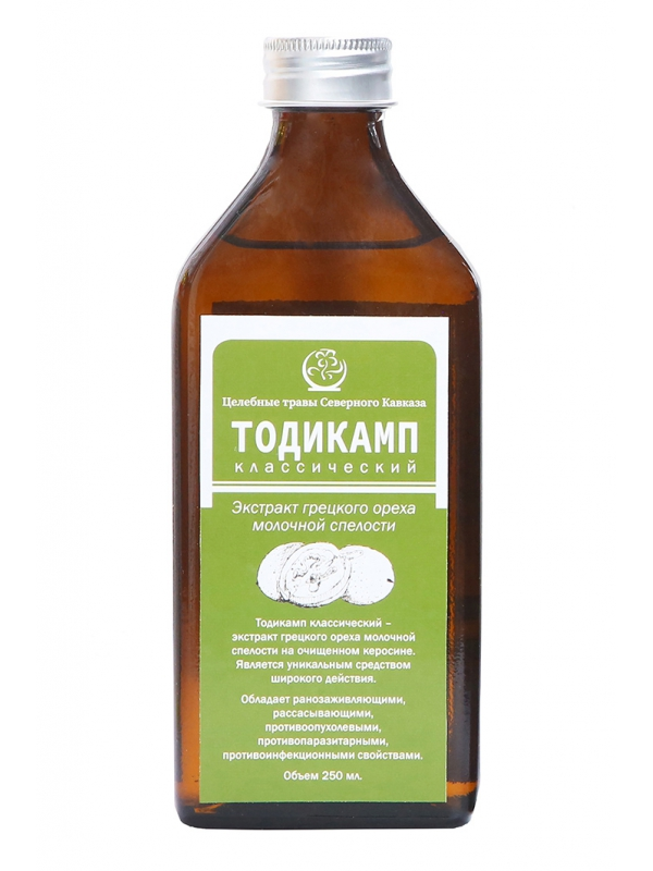 Лечение тодикампом геморрой
