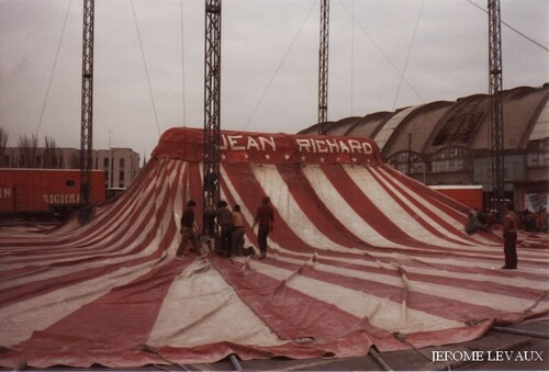 le cirque Jean Richard à Reims en novembre 1981 (1) - photos Jérôme Levaux