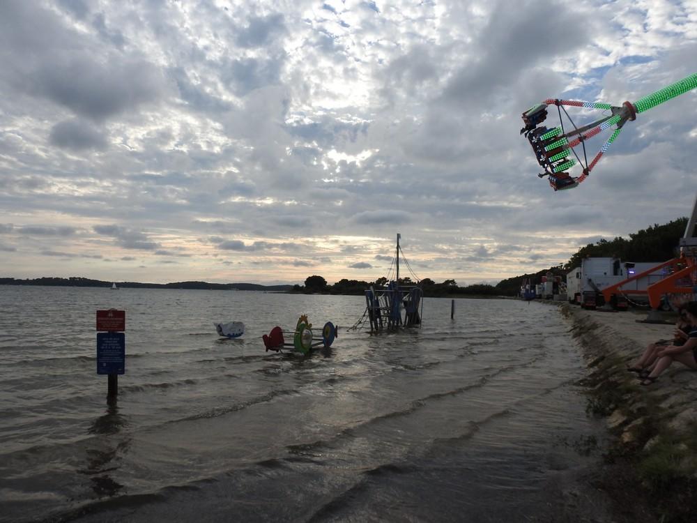 Grande marée du 12 août 2018...