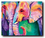 ELEPHANTS COLORES