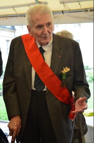 * Au Mont Valérien, commémoration du 78e anniversaire de l'Appel du 18 juin 1940