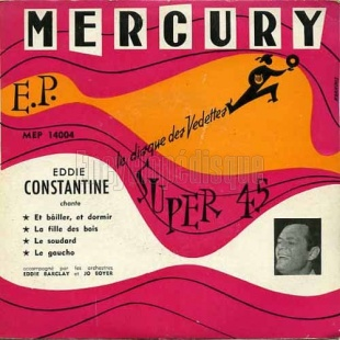 Eddie Constantine, 1954 premier 45 tours