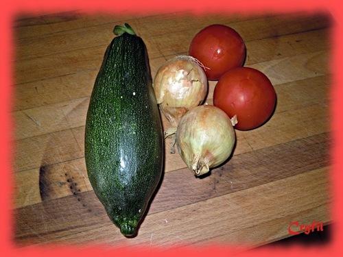 Tian de légumes à ma façon