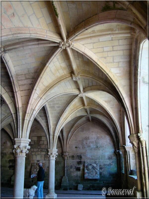 Abbaye de Fontdouce 12 ème siècle Charente-Maritime la Salle Capitulaire gothique 13ème siècle