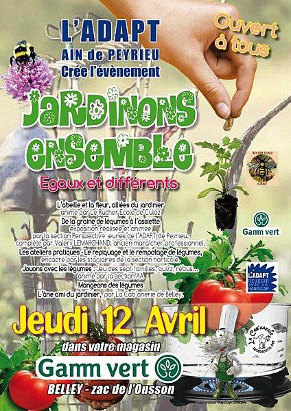 Affiche JARDINONS ENSEMBLEdef