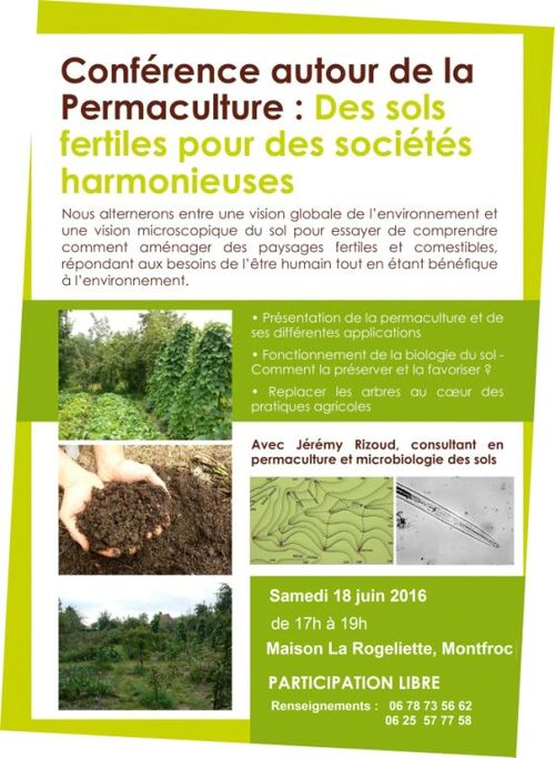 *conférence permaculture