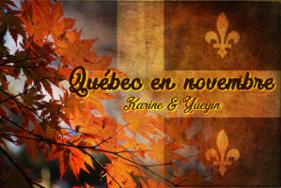 Québec en novembre 2016