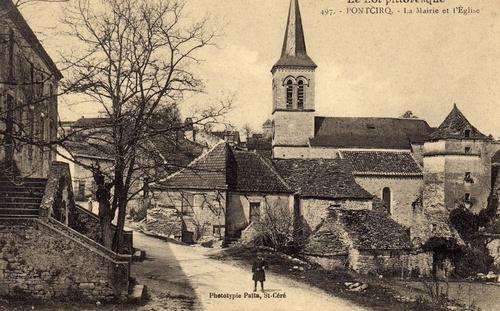 Carte postale d'autrefois