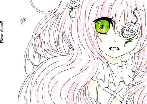 Kirakishou (Rozen Maiden) ~ by ¤ Elodie - Manga O Ekaki ¤