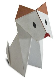Origami Dog Site has animation showing how to fold, when to fold.  Great Site!: