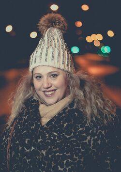 Coquette malgré le froid!!!!!!