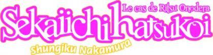 Sekai Ichi Hatsukoi