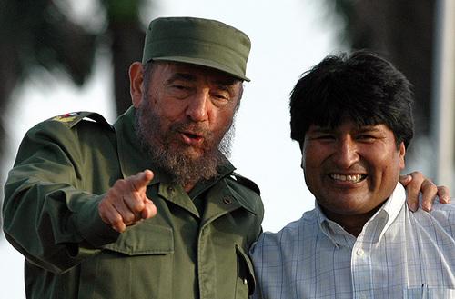 "Lettre de Fidel Castro a Evo Morales a l'occasion du ""jour de la mer"""