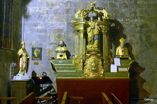 Valbonne: l'église abbatiale
