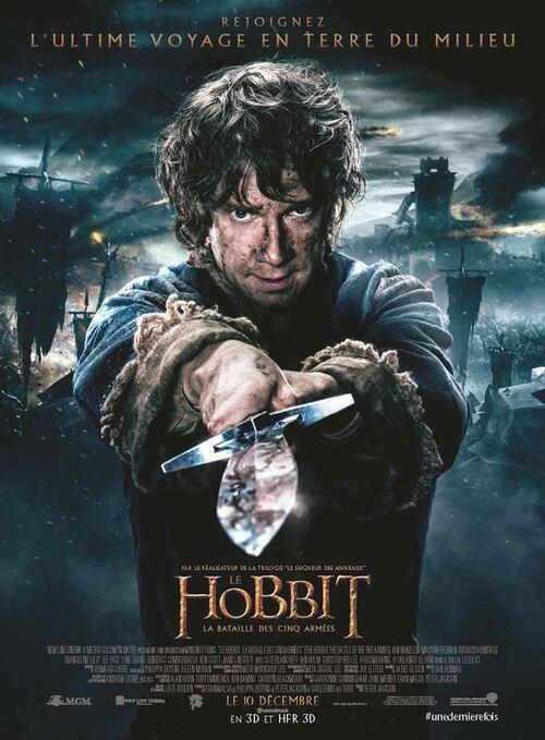 """Bonsoir a l'honneur : """" Le Hobbit : La Bataille des Cinq Armées """""""