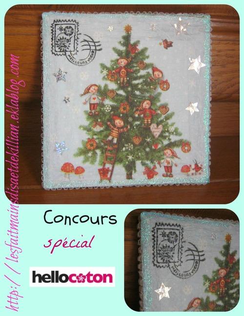 Concours spécial Hellocoton.....