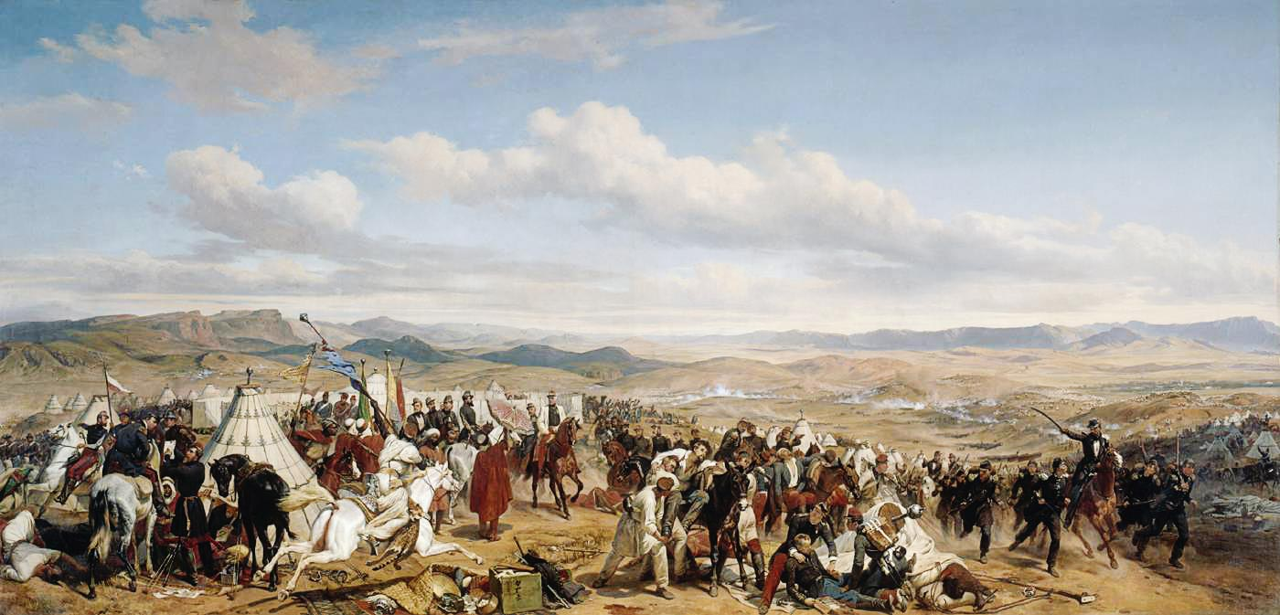 Tableau de la Bataille d'Isly