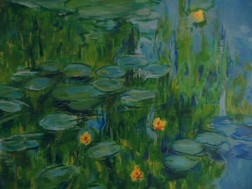 Les Nymphéas de Monet