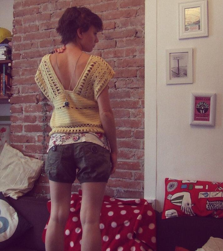 Si le père de peau d'âne avait su tricoter: #3 le top couleur du soleil