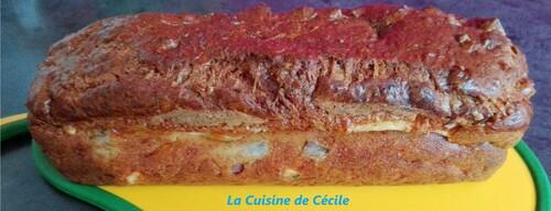 Cake andouille et camembert