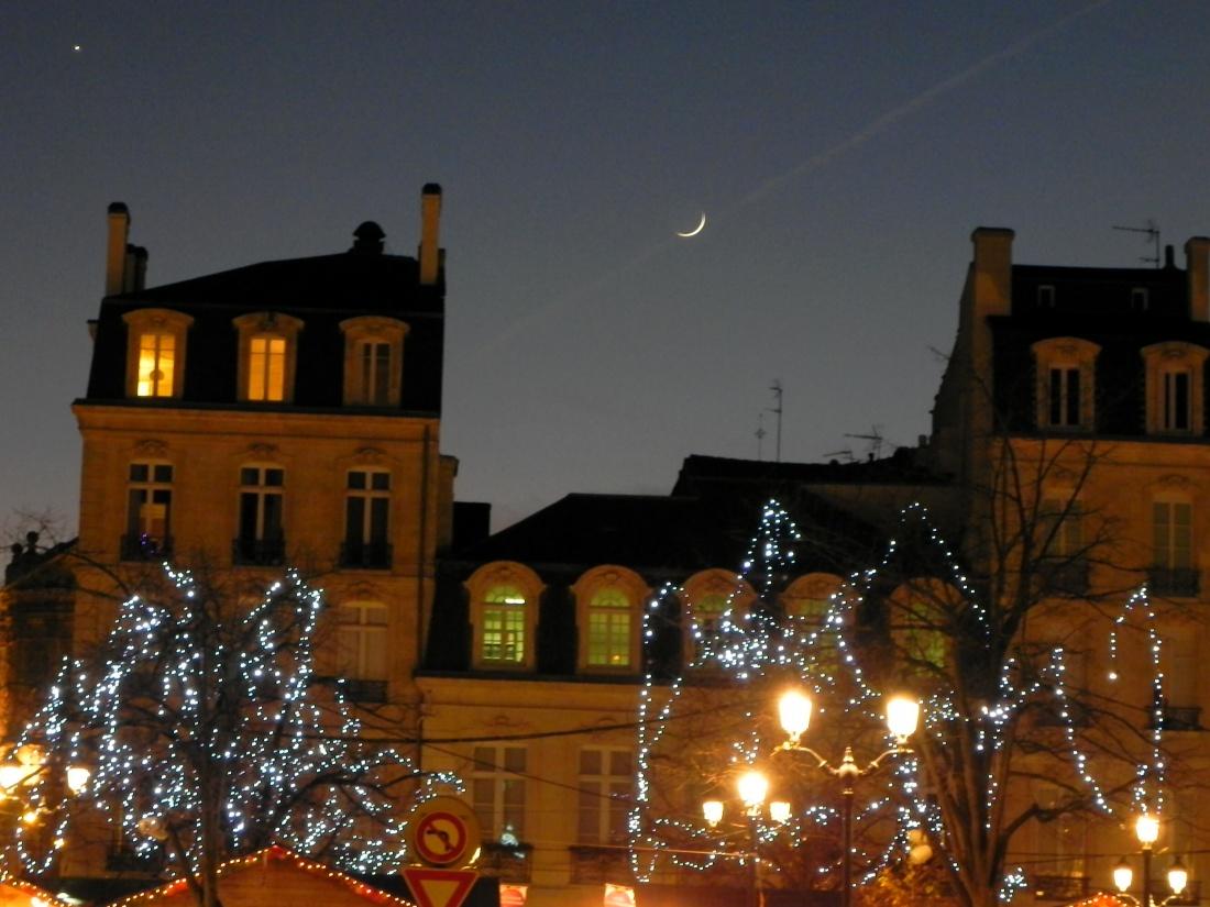 Bordeaux illuminé ce 26 décembre
