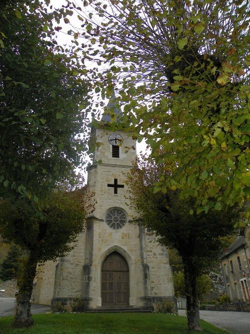 L'église de Cheignieu-la-Balme