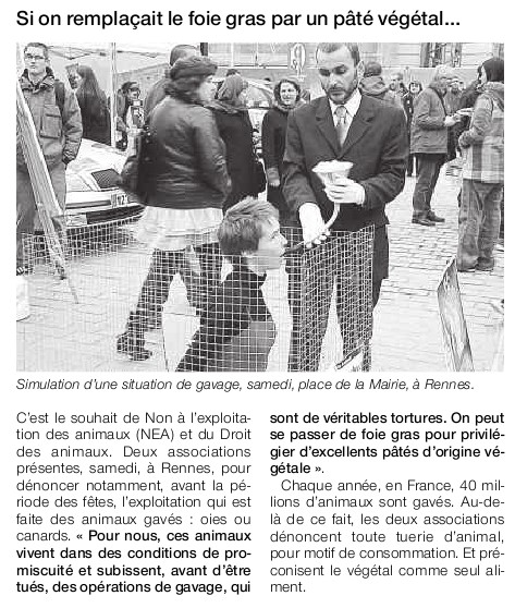 Ouest France 15/12/10