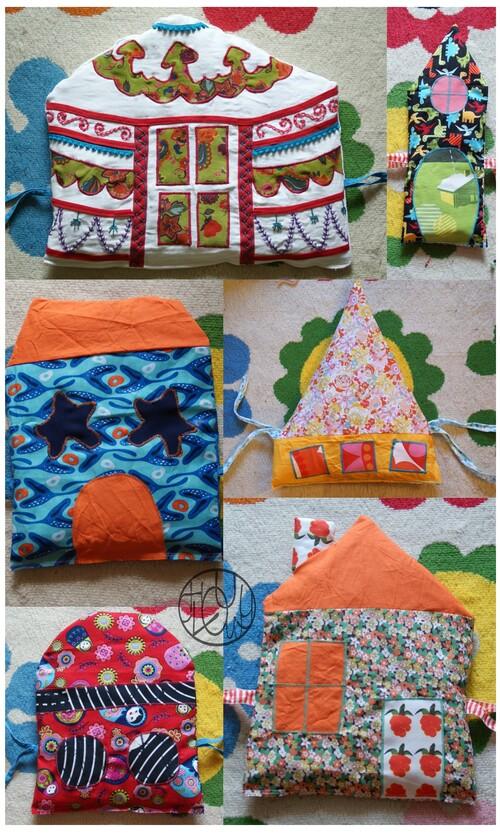 Tour de lit petites maisons